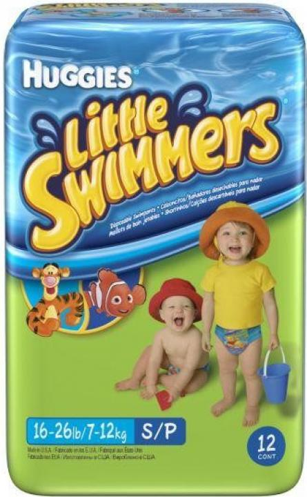 Little swimmers plenky do vody 7-12kg