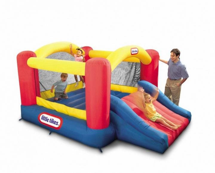 Little Tikes Jump \'n Slide Inflatable Bouncer