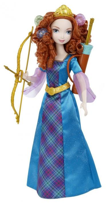 Mattel Disney Princess Princezna Merida
