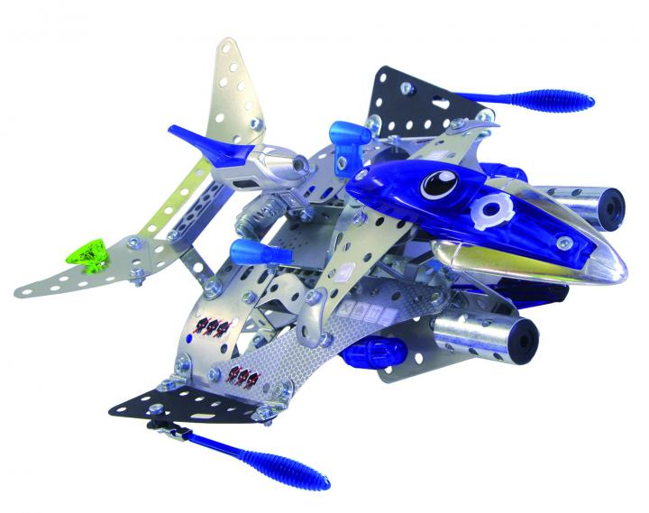 Meccano Silver Force Destroyer SCH