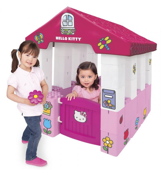 Megabloks Hello Kitty domeček