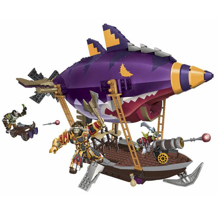 Megabloks World of Warcraft stavebnice Goblin Zepplin