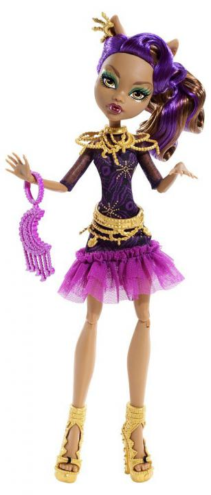 Monster High HOWLYWOOD Příšerka Clawdeen Wolf