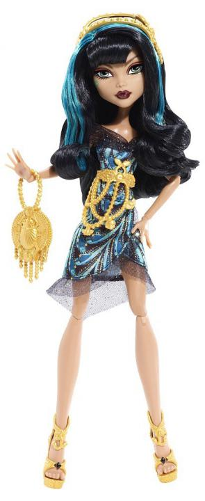 Monster High HOWLYWOOD Příšerka Cleo de Nile