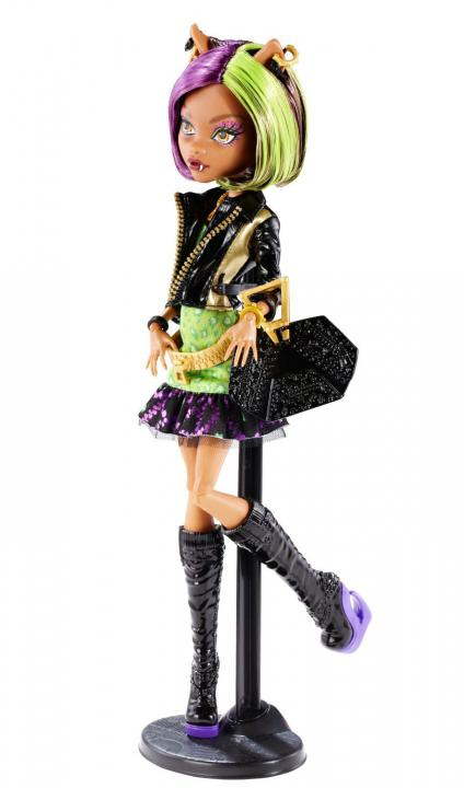 Monster High Příšerky Clawdeen Wolf