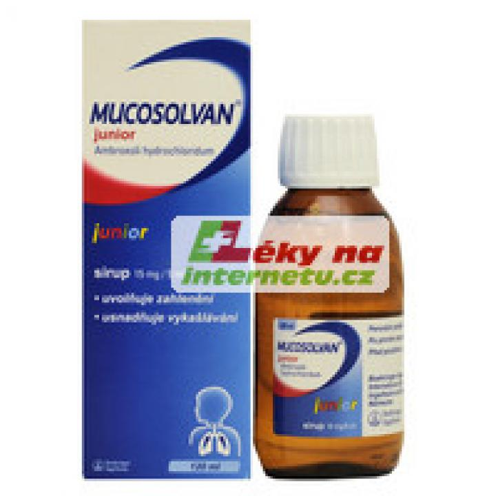 Mucosolvan junior sirup