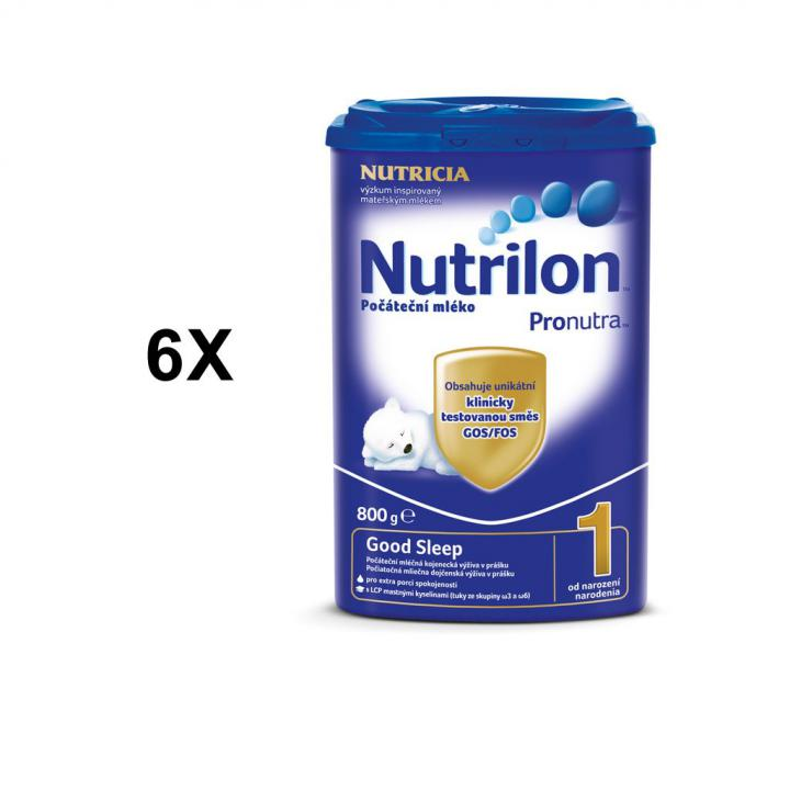 Nutrilon 1 Good Sleep - 6x 800g