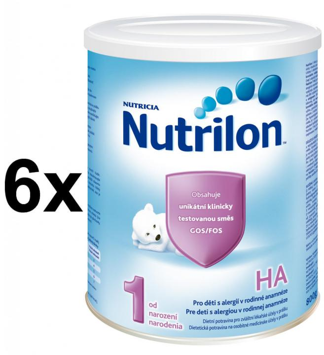 Nutrilon 1 HA - 6 x 800g