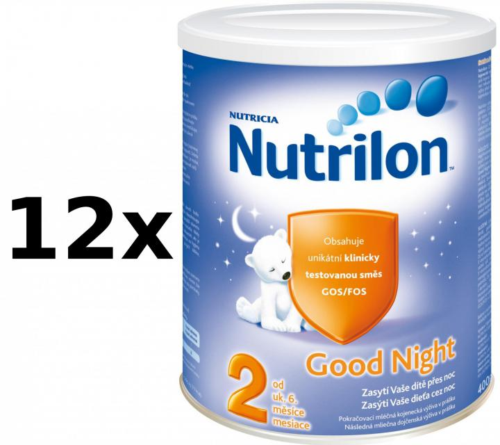 Nutrilon 2 Good Night - 12 x 400g