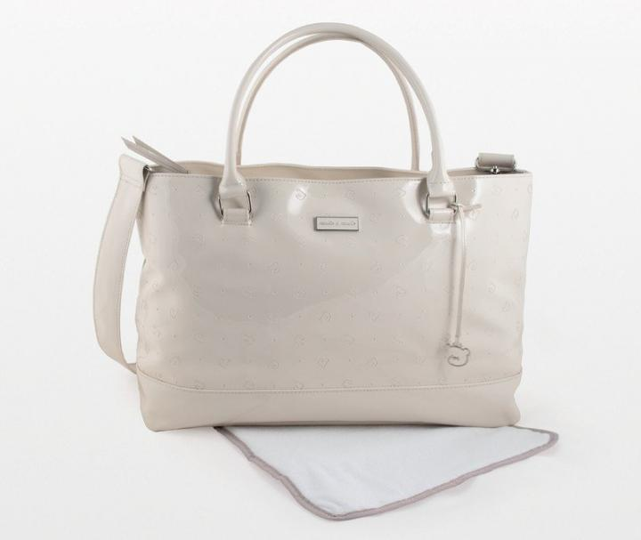 pasito a pasito Cupcake Changing Bag - Beige Toffee