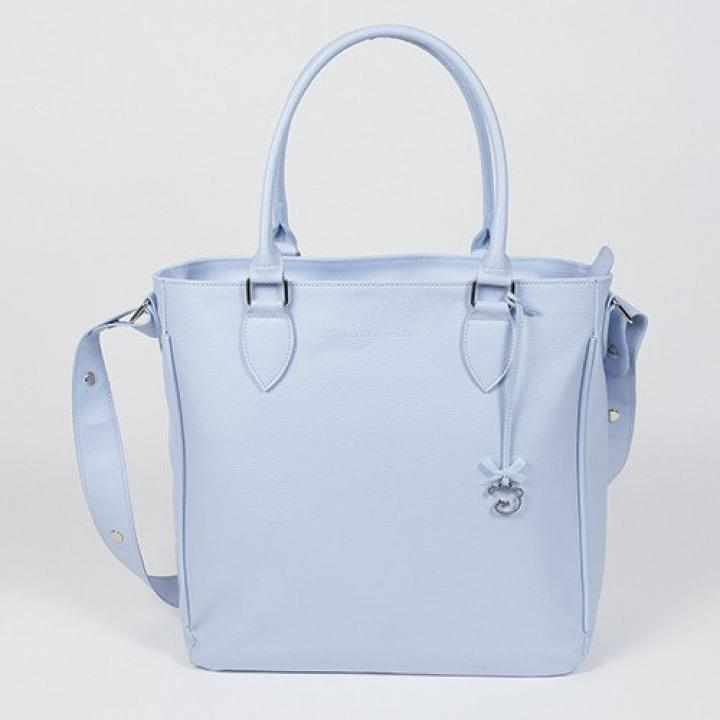 pasito a pasito Swarovski Element Changing Bag Small - Blue Cloud