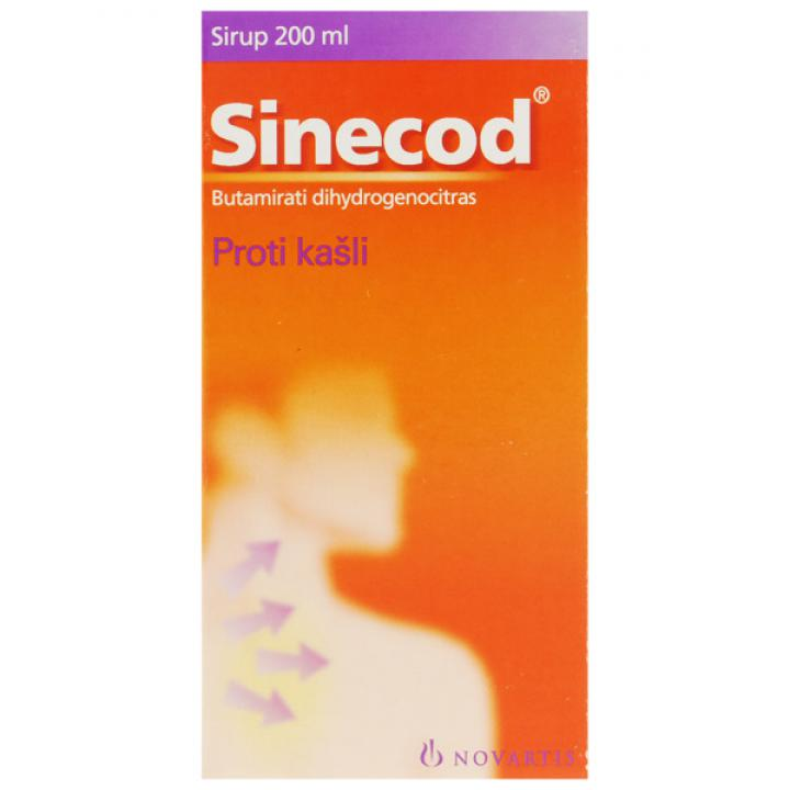 Sinecod sirup 200ML/300MG