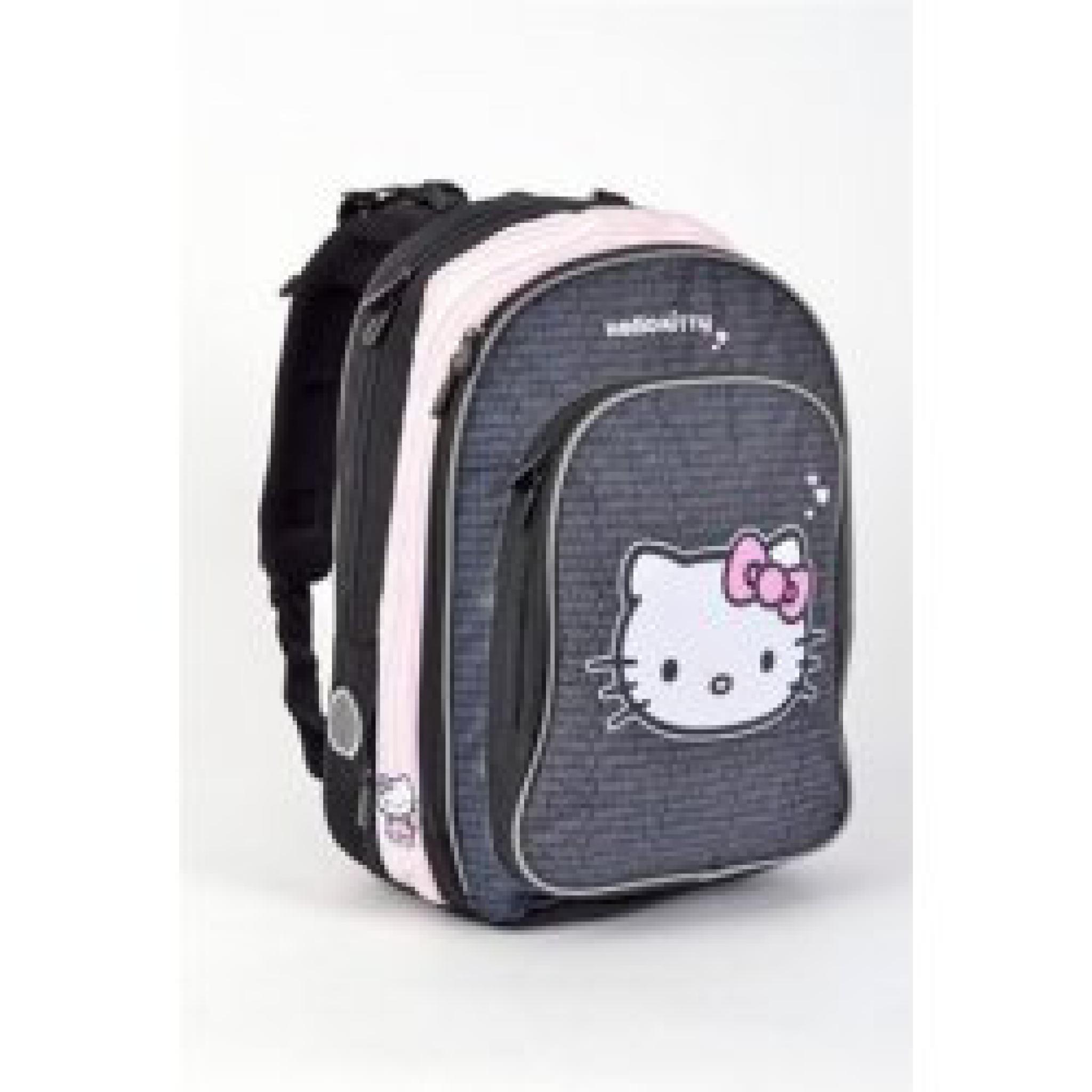 bfb7dc8474e Školní batoh anatomický ERGO Hello Kitty Black   Produkty ...
