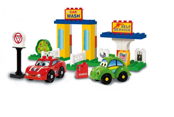 Unico CCars for kids - Truhla s kostkami