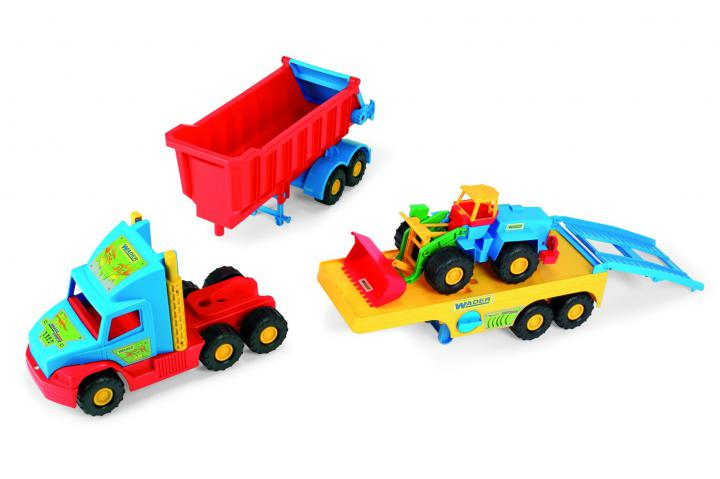 Wader Super Truck set 3669