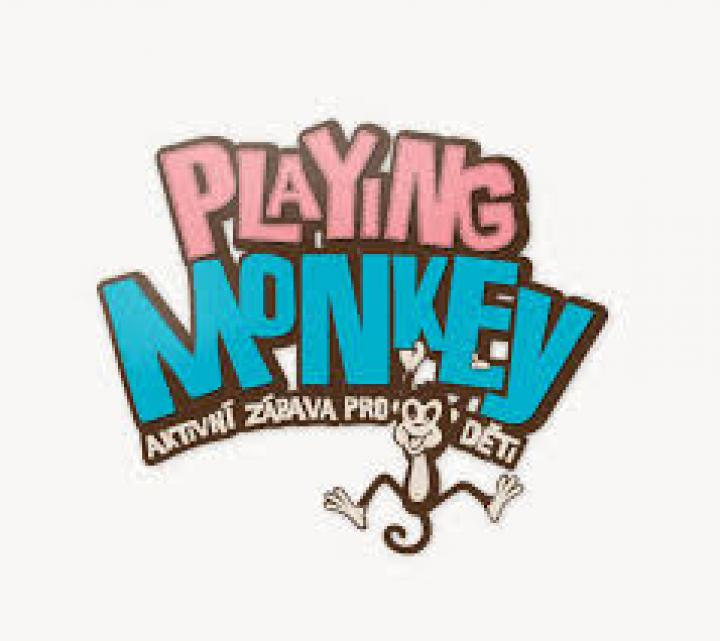 Brno - Playing monkey Baby monkey