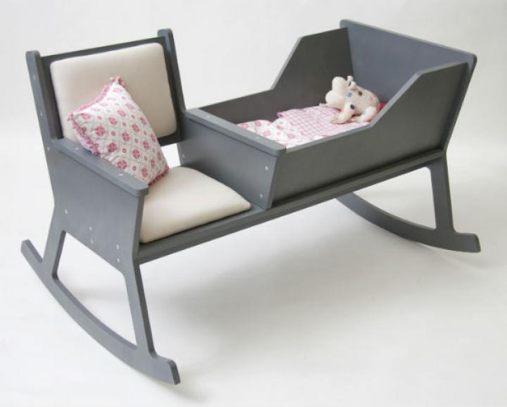 103. Modern rocking chair with integrated baby cradle7.jpg